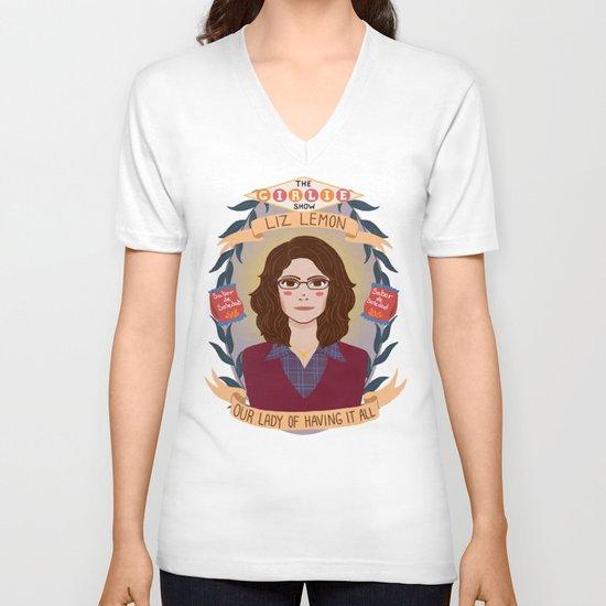 Liz Lemon V-neck T-shirt