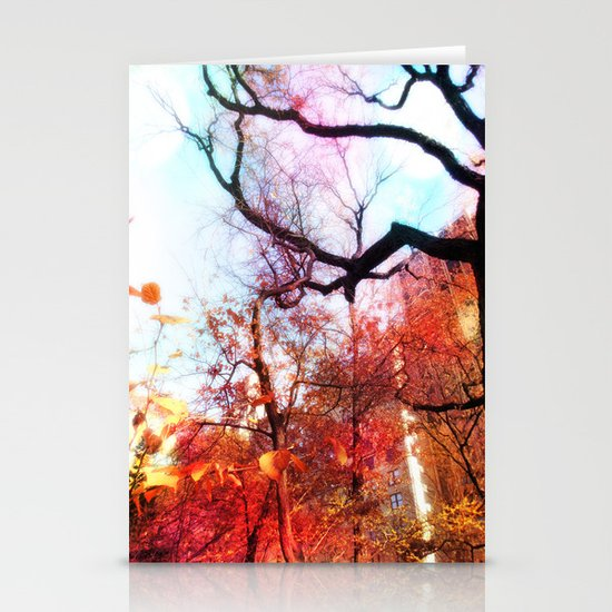 Color Blocked Stationery Card