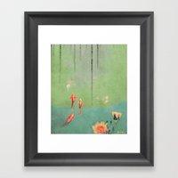 Koi Dreams Framed Art Print