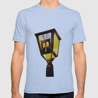 Brooklyn Bridge Lantern Mens Fitted Tee Athletic Blue SMALL