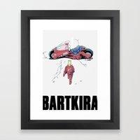 BartKira Poster Framed Art Print