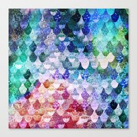 REALLY MERMAID FUNKY Canvas Print