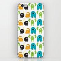Monstrillos  iPhone & iPod Skin