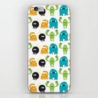 Monstrillos  iPhone & iPod Skin