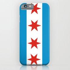 chicago flag iPhone 6 Slim Case