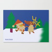 Nicolas&Rudolph Canvas Print