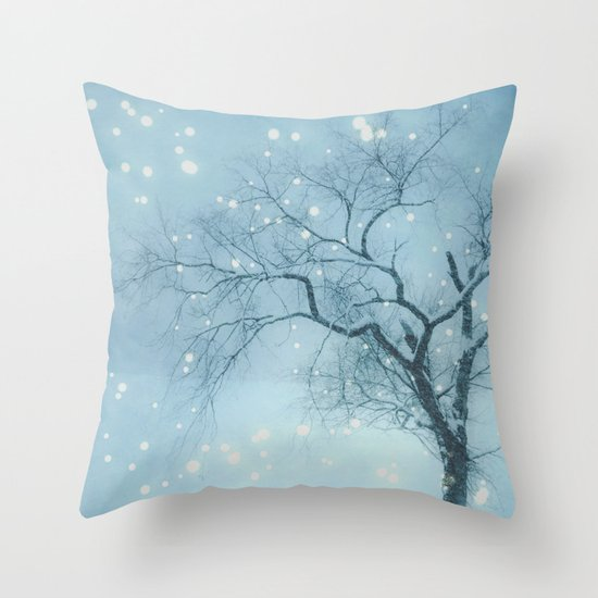 Night fall Throw Pillow