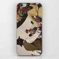 iPhone & iPod Skin featuring Danse De L'accordéon by Sébastien BOUVIER