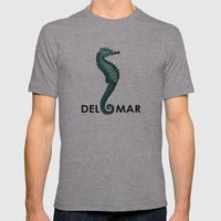 Caballito del Mar Mens Fitted Tee Athletic Grey SMALL