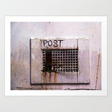 Mail Box Art Print