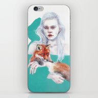 Gently Together iPhone & iPod Skin