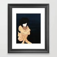 Clown laid bare #1 Framed Art Print