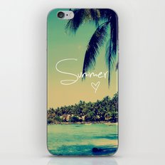 Summer Love Vintage Beac… iPhone & iPod Skin