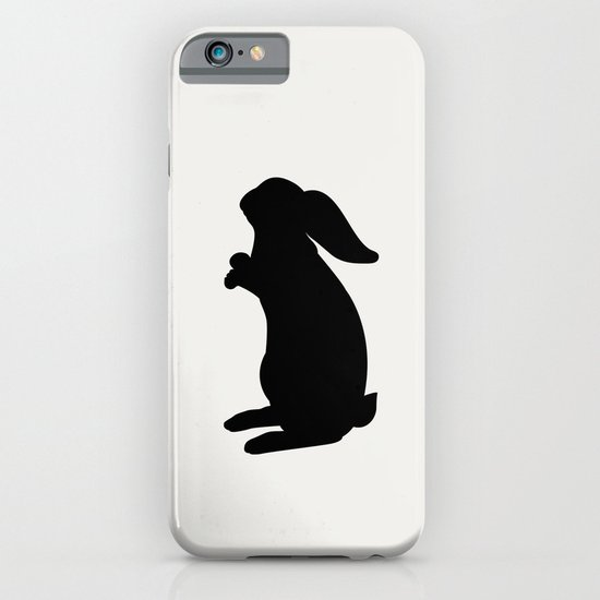 Positive Posters Rabbit iPhone & iPod Case
