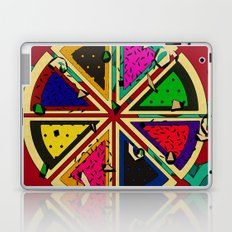 Pizza Patterned Pie Laptop & iPad Skin