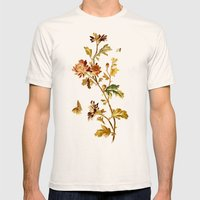 Chrysantheme Mens Fitted Tee Natural SMALL