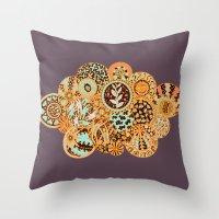 Life is a Circle Throw Pillow