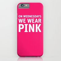 iPhone & iPod Case featuring Mean Girls #11 – Pink Wednesday by Enyalie