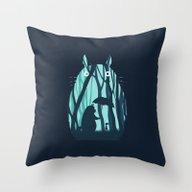 Throw Pillow featuring My Neighbor Totoro by Filiskun