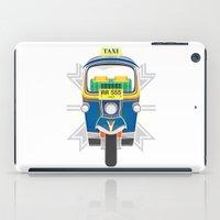 Tuk Tuk iPad Case