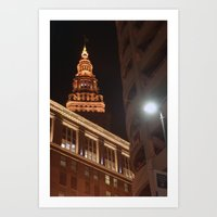 Night Lights... Art Print