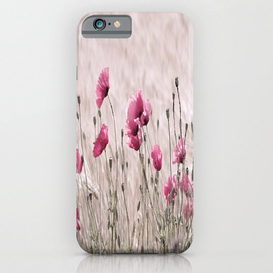 Poppy Pastell Pink iPhone & iPod Case