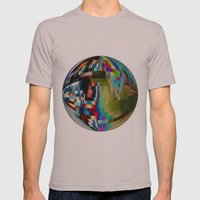 Pixelation  Mens Fitted Tee Cinder SMALL