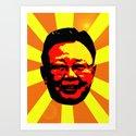 Farewell Kim Jong Il Art Print