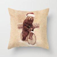A Barnabus Christmas Throw Pillow