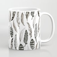 Feather Pattern Mug