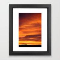 Sunrise March 15 2011 #2 Framed Art Print