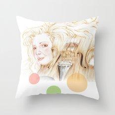 crescendo Throw Pillow