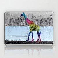 elegant giraffe Laptop & iPad Skin