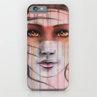 iPhone & iPod Case featuring Amber Eyes by Elesey
