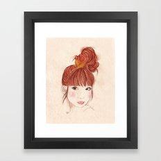 Tokyo Girl Framed Art Print