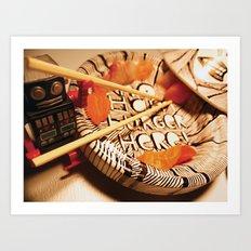 Maki tajine Art Print