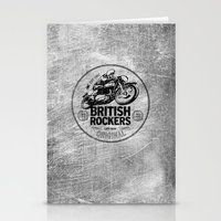 British Rockers 1967 Stationery Cards