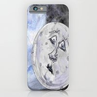 iPhone & iPod Case featuring Moon and the Balloon by Suky Goodfellow