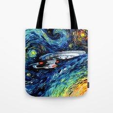 van Gogh Never Boldly Went Tote Bag