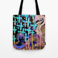 Sea Monster Tote Bag