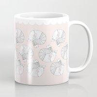 rainy cat Mug