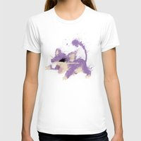 #019 Womens Fitted Tee White SMALL