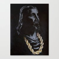 My Jesus Chain Canvas Print