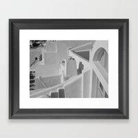 Oia Life Framed Art Print