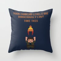 The Legend Of Jayne Throw Pillow