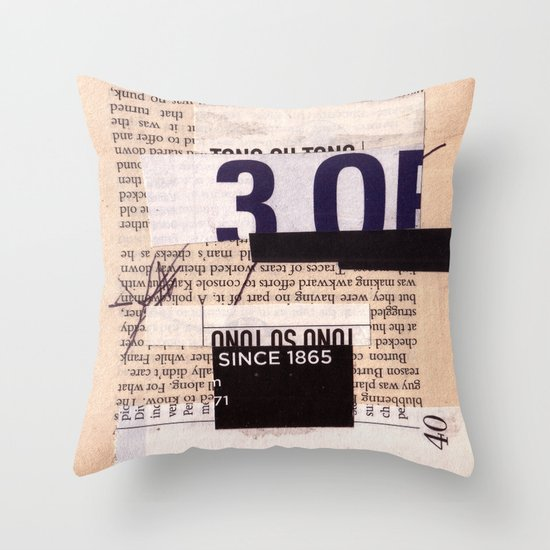 BOOKMARKS SERIES pg 334 Throw Pillow