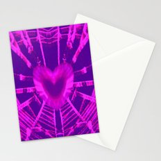 WEB OF LOVE Stationery Cards