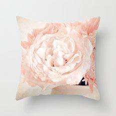 Pink Vanilla  Throw Pillow