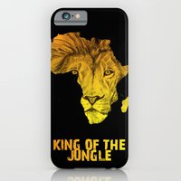 iPhone & iPod Case featuring King Of The Jungle! by DeMoose_Art
