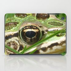 Northern Leopard Frog iPad Case